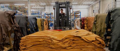 groot magazijn meubelleer